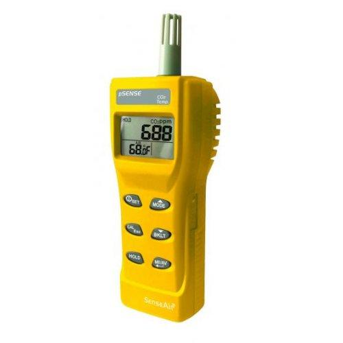 Thermometers SenseAir CO2T met Logger