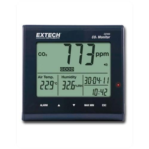 Thermometers Extech CO100 CO2 Meter