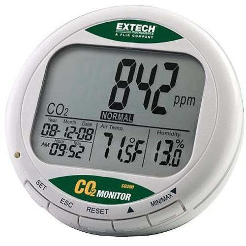 Thermometers Extech CO210 CO2 Meter
